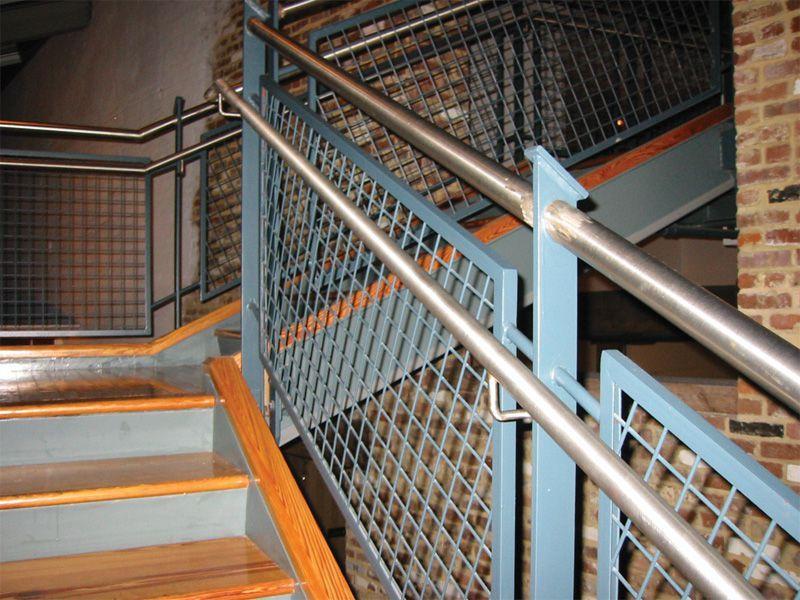 wirewall-stairwell