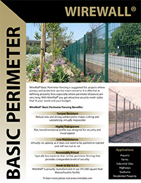 Download WireWall Basic Perimeter Brochure