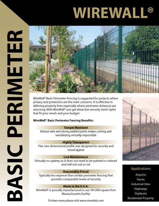 Download WireWall Security Barrier Sell Sheet